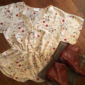 Sienna Sky print blouse